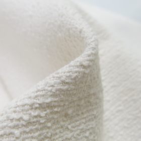 white textile close up